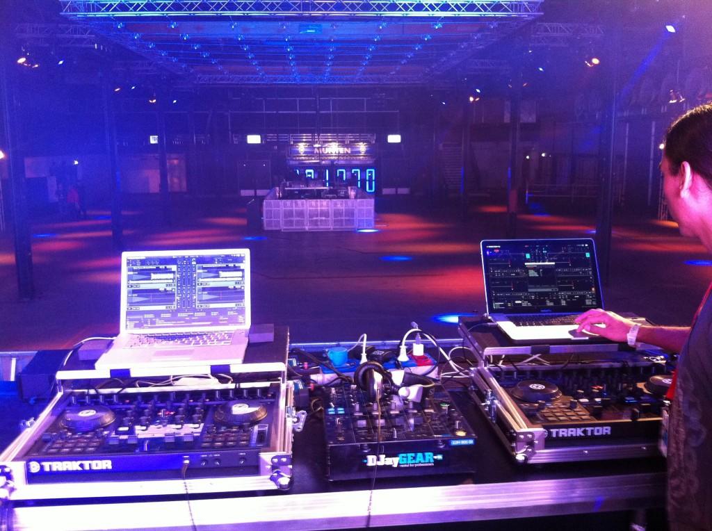 Digitale DJ setup